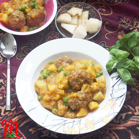 Potato and Plantain Pottage