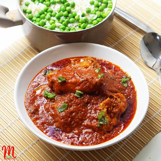 Palm oil tomato stew