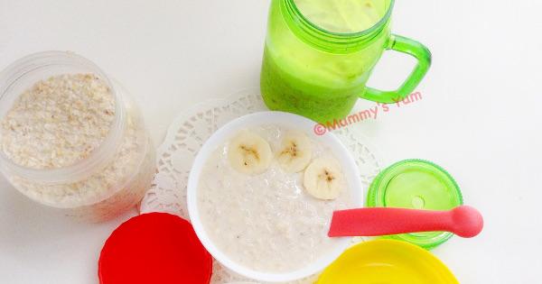 Overnight Porridge Oats - A Busy Morning Saver