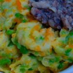 Carrot and Peas Mashed Potatoes