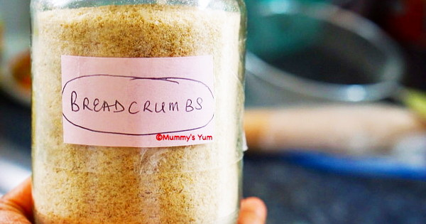 How to make your breadcrumbs without using oven and blender
