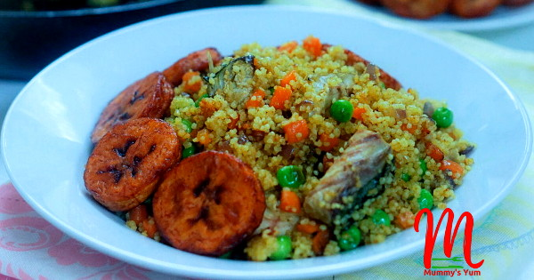 fish curry couscous