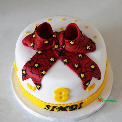Ankara Cake
