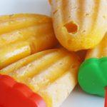 Simple Mango Popsicles