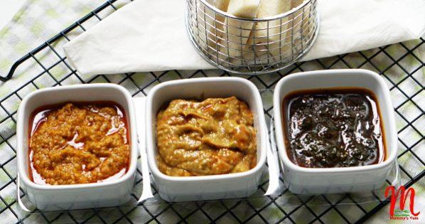 3-dip recipes for finger foods