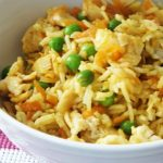 Simple Egg Fried Rice Bowl