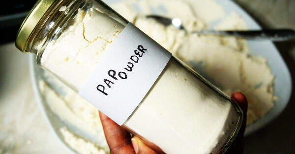 homemade dry pap powder